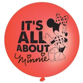Minnie Maus 4 Punchingball Luftballons