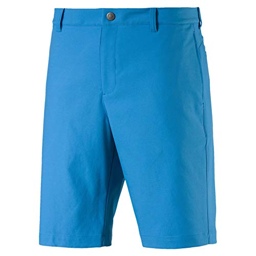 Puma Jackpot Herren Golf Gewebte Shorts Bleu Azur 34 (Golf Hosen Herren)