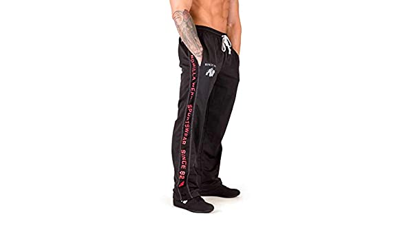 Gw Functional Mesh Pants L//XL Black//Red