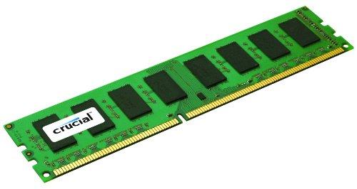 Crucial CT51272BD160B 4GB DDR3 PC3-12800 Unbuffered ECC - 184 Pin Ddr-sdram-system