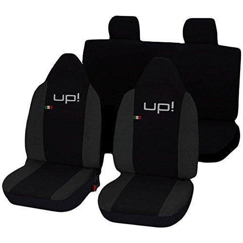 Lupex Shop Up N. Gs Sitzbezüge, Schwarz/Dunkelgrau