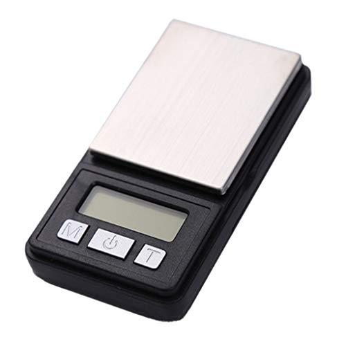 Beisoug 0.01 gram Joyería de precisión Balanza electrónica de Peso balanza Digital...