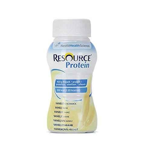 Nestle – Alimentos Resource® proteína Drink Vainilla, 200 ml, 24 unidades)