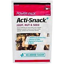 Fruta Acti-Snack, Nuez Y Semillas Paquete De Energía 250G - (Paquete de 2)