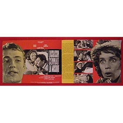 Dossier de presse de L'assassin connaît la musique (1963) – 27x37cm, 12 p - Film de Pierre Chenal avec M schell, P Meurice, – Photos N&B + résumé scénario – Bon état.