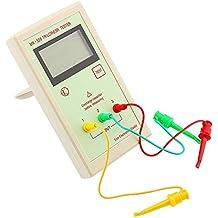 Probador de Transistores ESR Tester MK328 Medidor de Resistencia de Inductancia de Capacitancia Detector Comprobador de