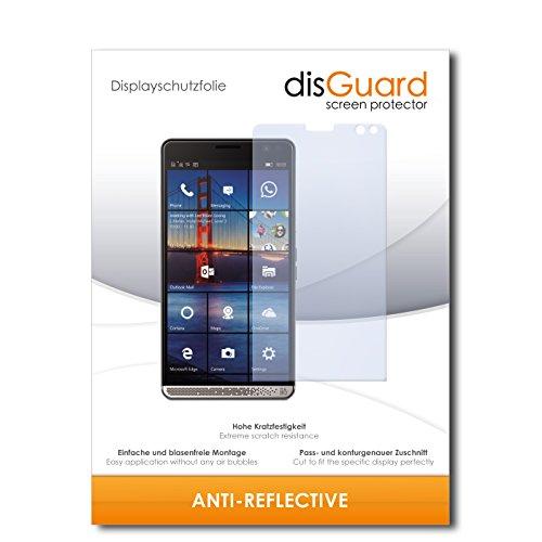 disGuard® Displayschutzfolie [Anti-Reflex] kompatibel mit HP Elite X3 [2 Stück] Entspiegelnd, Matt, Antireflektierend, Extrem Kratzfest, Anti-Fingerabdruck - Panzerglas Folie, Schutzfolie