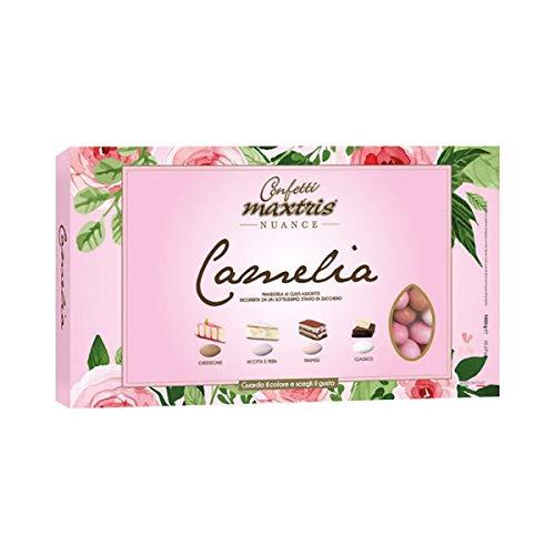 MAXTRIS | Confetti Italiani di Mandorla | NUANCE CAMELIA (4 GUSTI) | 1 Kg.