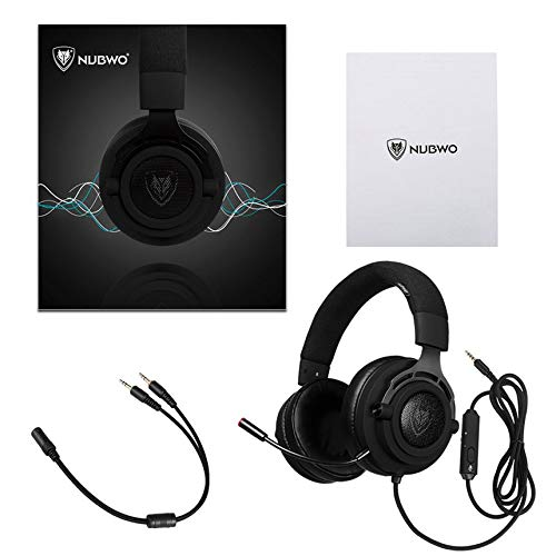 NUBWO N9 Gaming Headset Computer Gamer Headphone with Microphone