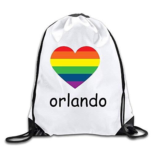 htrewtregregre Pray For Orlando Drawstring Rucksacks Sack Taschen