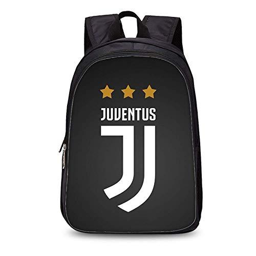 Zaino Football Star Zaino Juventus Soccer Club Zaino in poliestere Studente/Zaino per bambini Zaino Fashion (#6)
