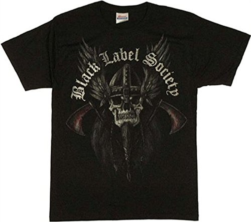 Black Label Society - - Thor & Axe Herren Kurzarm T-Shirt in schwarz, Small, Black (T-shirts Black Label Herren)
