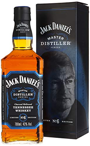 Jack Daniel's Tennessee Whiskey - 43% Vol. - Master Distiller Serie No. 6 - limited Edition - Daniels Lichter Jack