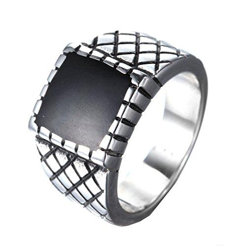 hijones-hommes-haut-polonais-vendange-acier-inoxydable-bague-noir-epoxy-tallie-62