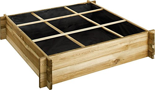 Carré de potager en bois traité Cardon 90