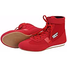 Greenhill Unisex Adult Boxing Shoes Zapatos de Boxeo,Low-Top Boxing Boots Botas de