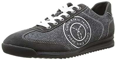 Calvin Klein Jeans MAXIMIUS FLANNEL/SUEDE, Herren Sneakers, Grau (ANTHRACITE / ANT), 41 EU