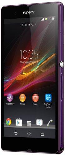 "Sony Xperia Z Single SIM 16GB Purple - Smartphones (12.7 cm (5""), 16 GB, 13 MP, Android, 4.1, Purple)"