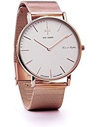 Nick Cabana Reloj los Mujeres Boheme Collection Gold Mesh 36 010