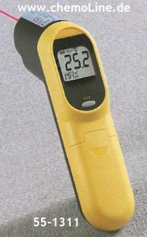 Möller-Therm Infrarot Thermometer, 160 x 82 x 41.5 mm, schwarz, One Size
