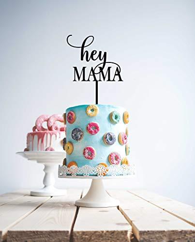 aby Dusche Kuchen Topper rustikale Namen Kuchen Topper Neugeborenen Dusche Kuchen Dekoration personalisiert besprühen Dusche Kuchen ()