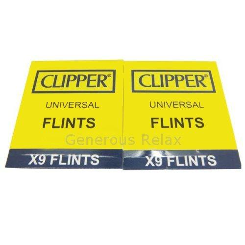 Piedras para mechero Clipper, para todos los tipos de mechero incluyendo Zippo, 18 unidades.