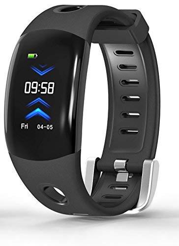 ApexJoy Wasserdichter Fitness-Aktivitätstracker Smart-Armband Herzfrequenz & Schlafüberwachung Kalorienverbrauch, Schrittzähler, Anruferinnerung, Bluetooth, Armband