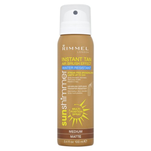 Sunshimmer Instant Tan Airbrush Effect Spray - Medium Matte