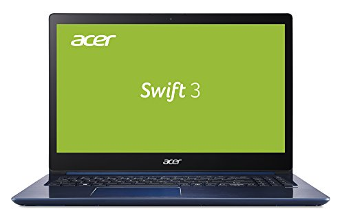Acer Swift 3 SF315-51-3114 39,6 cm (15,6 Zoll Full-HD IPS) Ultrabook (Intel Core i3-7100U, 4GB RAM, 128GB SSD, Intel HD, Win 10) blau