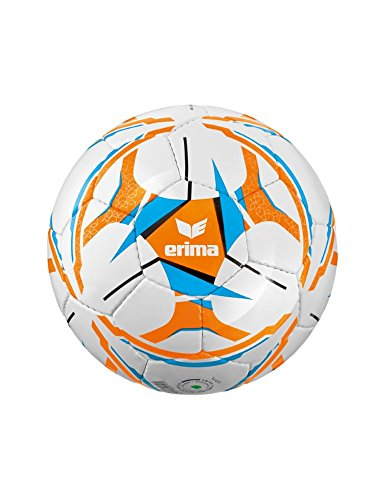 Erima Kinder Senzor Allround Lite 290 Fussball, neon orange/Curacao, 3 (Fußball Größe 3 Puma)