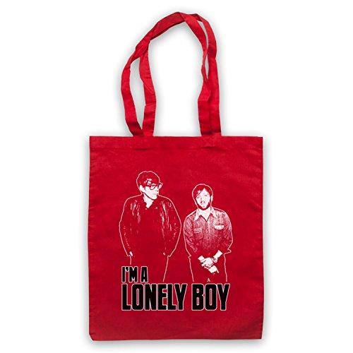 Inspiriert durch Black Keys Lonely Boy Inoffiziell Umhangetaschen Rot