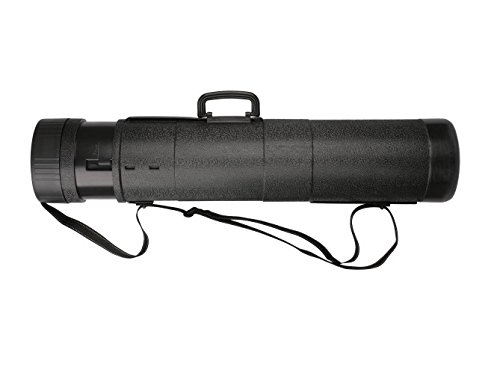 Mikado Rutentransportrohr Rutenrohr Hardcase verstellbar 81-180cm 2 Modelle Top! (81-130 cm/16 cm (UAD-1660-130))