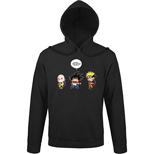 Sweats à capuche Naruto - Dragon Ball parodique Sangoku Naruto : Tortue ninja !? (Parodie Naruto - Dragon Ball)