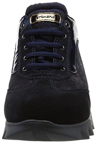 Stonefly Speedy Lady 10 Vel/L, Baskets Femme Bleu (Blu-navy 1a02)