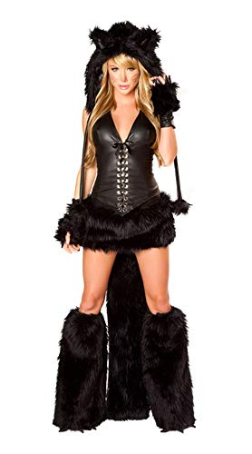 XSQR Sexy Overall Lack Anzug Cat Suit Halloween Wetlook Catsuit Bodys Dessous Nachtkleid Party Clubwear