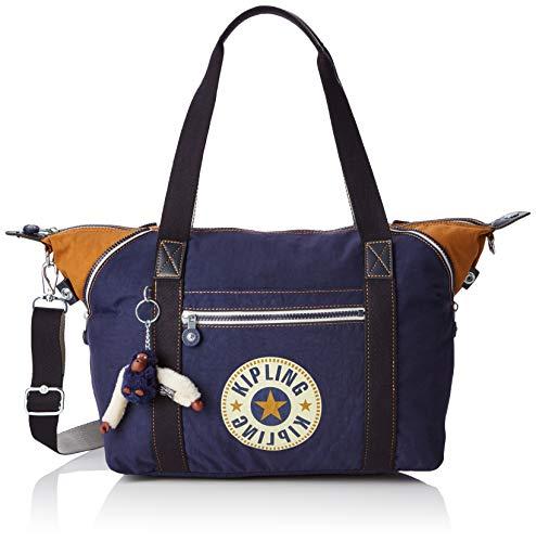 Kipling - Art, Bolsos maletín Mujer, Azul