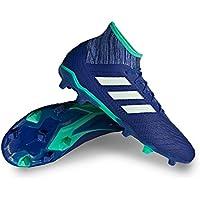 adidas predator 18.2FG sol dur adulte 45.3Chaussure de football–Chaussures de football (sol dur, adulte, masculin, Semelle avec chevilles, Bleu, monótono)