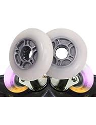 2 ruedas de repuesto para waveboard con 80 x 24 mm, sin almacenamiento, dureza media