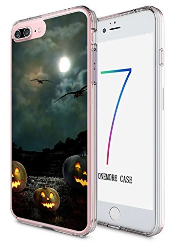 ne 7 Plus Hard Cover 14 cm Ultra Slim Dünn Happy Halloween, Style-9 ()