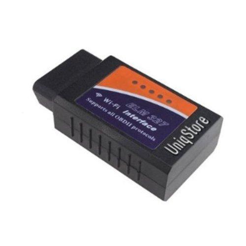 Uniqstore® WIFI OBD2 Wirless ELM327 PC Car Diagnostic Reader Scanner Werkzeug mit WLAN für iPhone iPad, (Obd Reader Iphone)