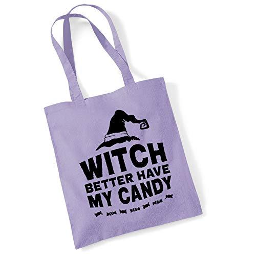 Bang Tidy Clothing Halloween kostüm Tote Bag Trick oder Festlichkeit Geschenke Hexe Candy Shopper