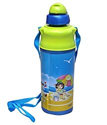 Milton Kool Spark Water Bottle Green 400 ML