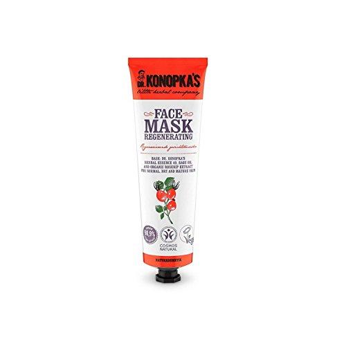 DR KONOPKA'S - Maschera Viso Rigenerante - Perfetta per Pelli Secche e Normali - Ingredienti 99% Naturali - Vegan - 75 ML
