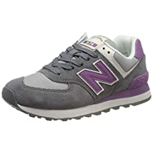 New Balance Damen 574v2 Sneaker, Grau (Grey Grey), 36.5 EU