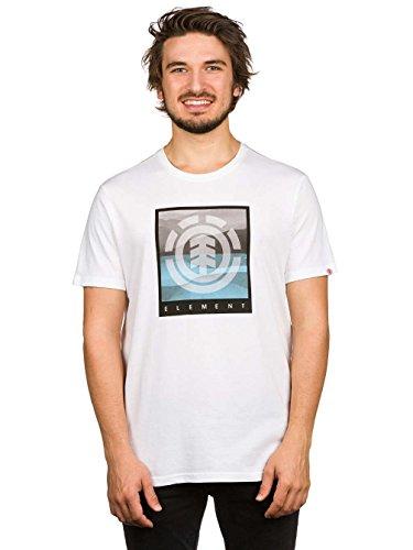 Element Rolling T-Shirt Weiß