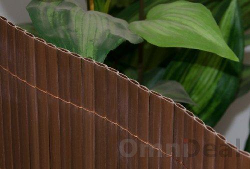 Steccato Giardino Plastica : Eyepower canniccio di pvc 80x300cm incannucciata di plastica