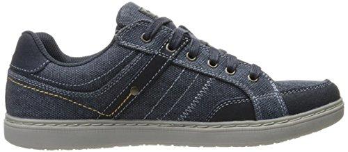 Skechers Lanson Mesten, Chaussures Bateau Homme Bleu (Nvy)