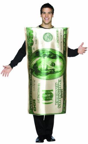 Rasta Imposta 100 $ Schein - Kostüm für Erwachsene