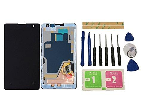 Flügel für Nokia Lumia 1020 Display LCD Ersatzdisplay Schwarz Touchscreen Digitizer Bildschirm Glas Komplett Einheit mit Rahmen Ersatzteile & Werkzeuge & Kleber