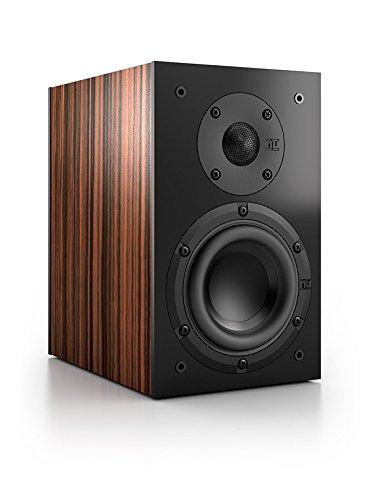 Nubert nuBox 303 Regal-/Dipol-Lautsprecher 2-Wege (12,0 cm Tieftöner, 2x 1,9 cm Hochtöner, 100/130 Watt, 74-27000 Hz), Stück, Ebenholz/Schwarz
